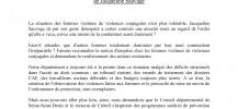 Communique_ Jacqueline Sauvage mobilisation samedi 23 10h30 Bastille -SANS NUM