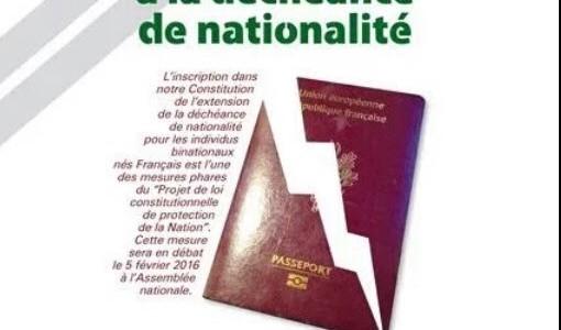 Déchéance nationalité